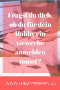 Fragst du dich, ob du für dein Hobby ein Gewerbe anmelden musst?
