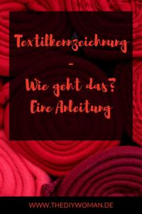 Textilkennzeichnung - Eine Anleitung, wie du die Textilkennzeichnung in deinem DIY-Business einfach und rechtssicher umsetzt.